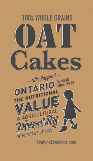 oat cake front